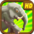 Elephant Run in Africa FREE