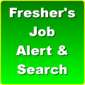 Fresher's Job Alert & Search