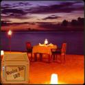 Romantic Beach Night LWP