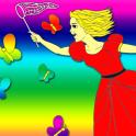 Happy Princess Coloring Book