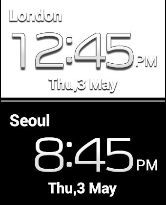 Dual Clock (digital)