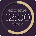 Extreme Clock wallpaper