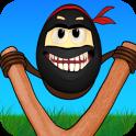Crazy Ninja Egg: Clumsy Jump