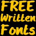 Write Fonts for FlipFont free