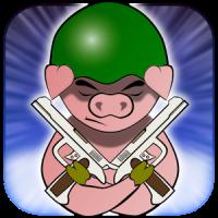 War Piggy: Jetpack Pig Warrior