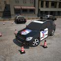 Estacionamento 3D polícia