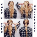 Easy Hairstyles Steps
