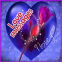 Love messages and romantic images