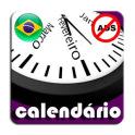 Brasil Calendário Feriados 2020 AdFree + Widget
