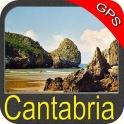 Cantabria GPS Map Navigator