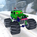 3D Monster Truck Snow Racing