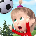Masha and the Bear: Football Games for kids