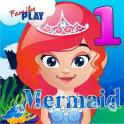 Meerjungfrau-Grade 1 Spiele