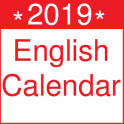 English Calendar 2019 India