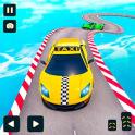 Taxi Car Stunts Games 3D: Ramp Car Stunts