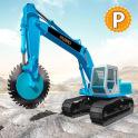 Heavy Excavator Rock Mining Stone Cutter Simulator