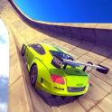 Extreme Stunts GT Racing Car: Mega Impossible Ramp