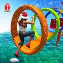 New Water Stuntman Run 2020: Water Park Free Games