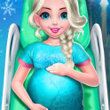 Ice Princess Pregnant Mom and Baby Care Games