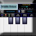 ORG music keyboard