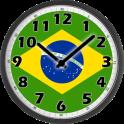 Brazil Clock