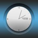 Big white analog clock uccw