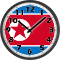 North Korea Clock