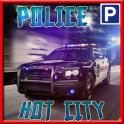 警察の駐車場クラッシュテスト