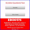 IQ (Idiot Quotient) Test