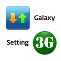 Galaxy 3G/4G Setting (ON/OFF)