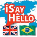 iSayHello English - Portuguese (Brazil)
