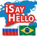 iSayHello Russian - Portuguese (Brazil)