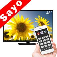 TV Remote Control for Sanyo TV