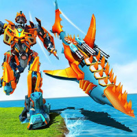 Shark Robot Transforming Games