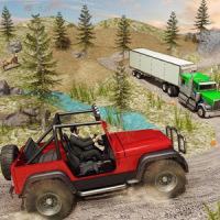 Offroad Jeep Prado Driving- Truck Driver Sim