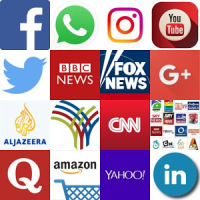 All Social Networks and News Media