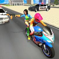 Police Car Vs Theft Bike