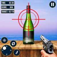 Real Bottle Shooter Hero 2019 :Free Shooting Game