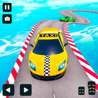 Taxi Car Stunts Games 3D: Ramp Car Stunts