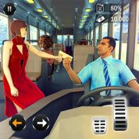 Pasajero Autobús Taxi Conducción Simulador