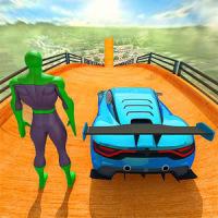 Superhero Car Games GT Racing Stunts - Game 2021