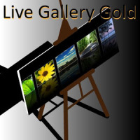 Live Gallery Gold (plus Clock)
