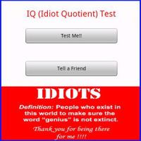 IQ (Idiot Quotient) Test