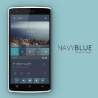 Navy Blue Theme for Zooper