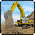 Hill Excavator Mining Truck Construction Simulator