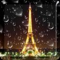 Дождливый Париж Live Wallpaper