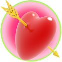 Couple Romance Flying hearts Wallpaper
