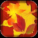 Orange Leaf Live Wallpaper