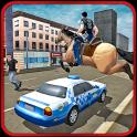 Police Horse Criminal Chase