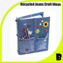 Recycled Jeans Craft Idea